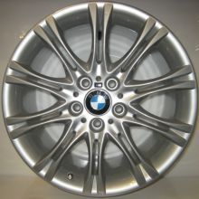 BMW 18 inch MV2 - Matt Silver